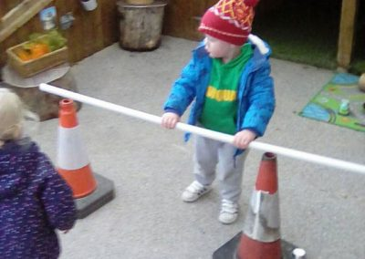 Children playing at Lilliput Nursery School