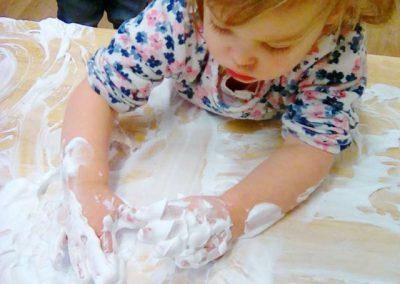 Creative playtime at Lilliput Nursery School