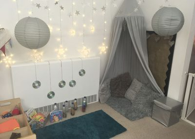 Relaxing area at Lilliput Nursery School