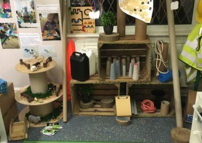 Nursery room with floor mat at Lilliput Nursery School