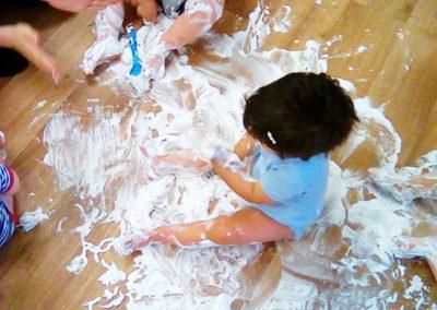 Children having fun at Lilliput Nursery School