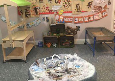 Nursery play room at Lilliput Nursery School